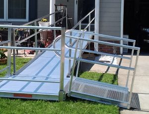 modular wheelchair ramp