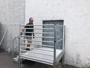 redispan osha stairs